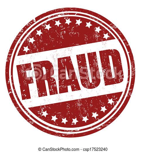 Fraud stamp - csp17523240