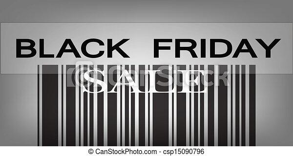 fredag, pris, barcode, produkter, svart, speciell - csp15090796