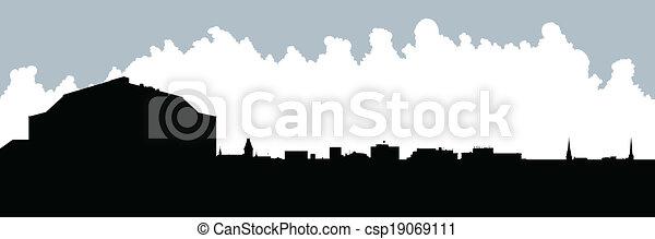 Fredricton Skyline - csp19069111