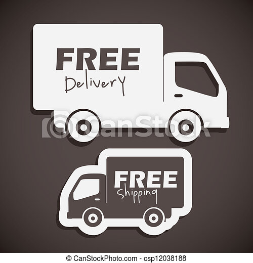 free delivery - csp12038188