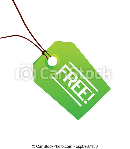 Free green clothing label - csp8907150