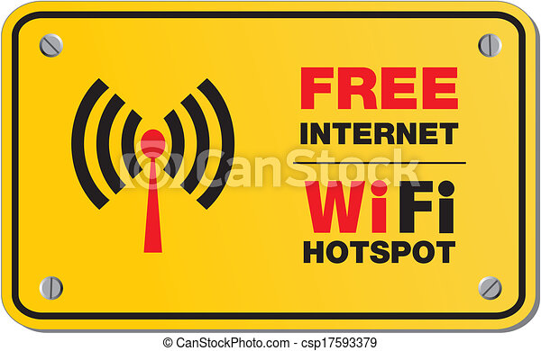 Free Internet Wifi Hotspot Signs Suitable For Wifi Signs