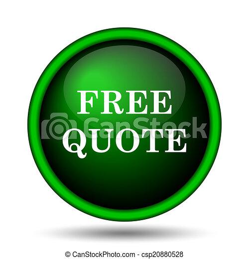 Free quote icon - csp20880528