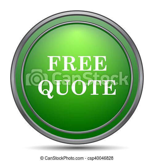 Free quote icon - csp40046828