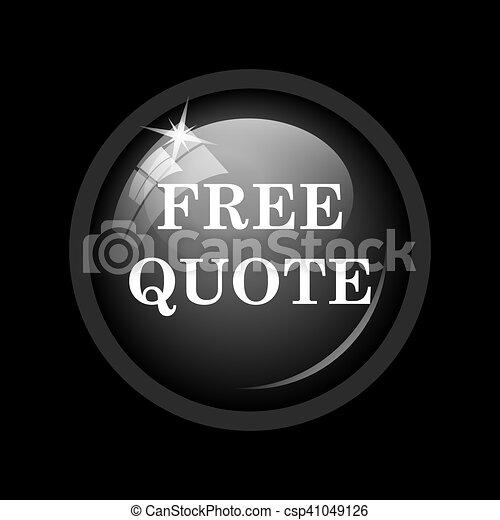 Free quote icon - csp41049126