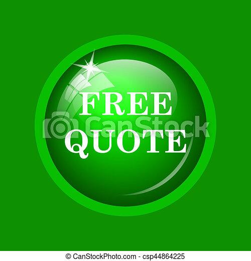 Free quote icon - csp44864225