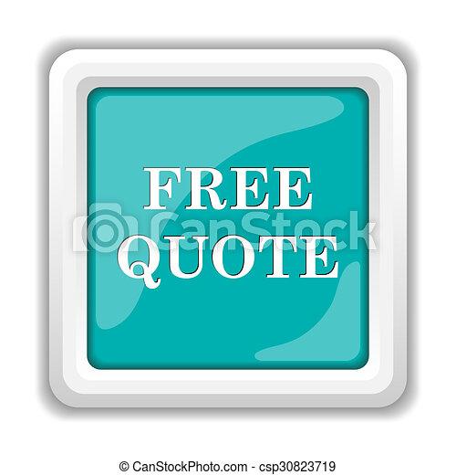 Free quote icon - csp30823719