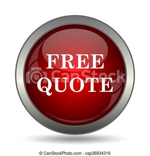 Free quote icon - csp36934316