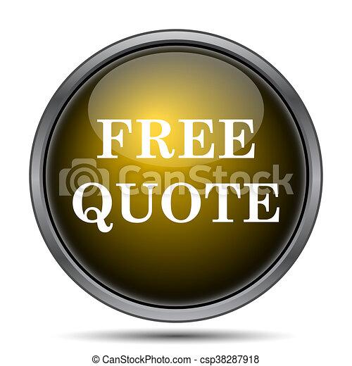 Free quote icon - csp38287918