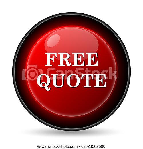 Free quote icon - csp23502500