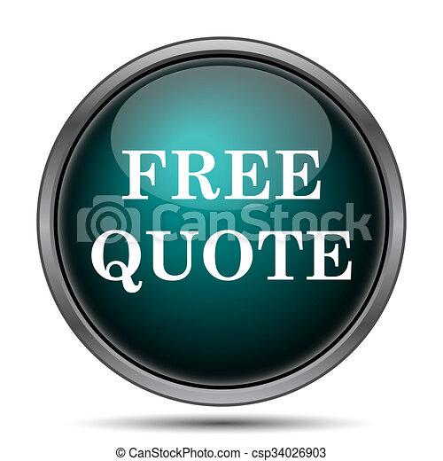 Free quote icon - csp34026903