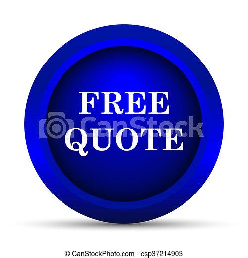 Free quote icon - csp37214903