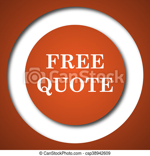 Free quote icon - csp38942609