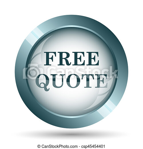 Free quote icon - csp45454401