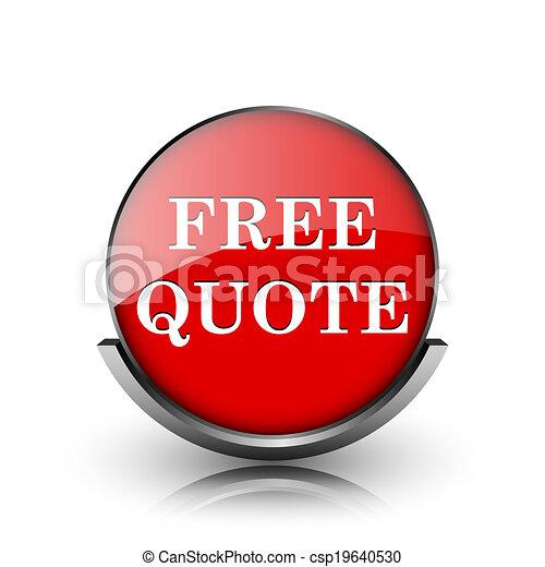 Free quote icon - csp19640530
