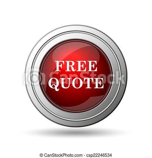 Free quote icon - csp22246534