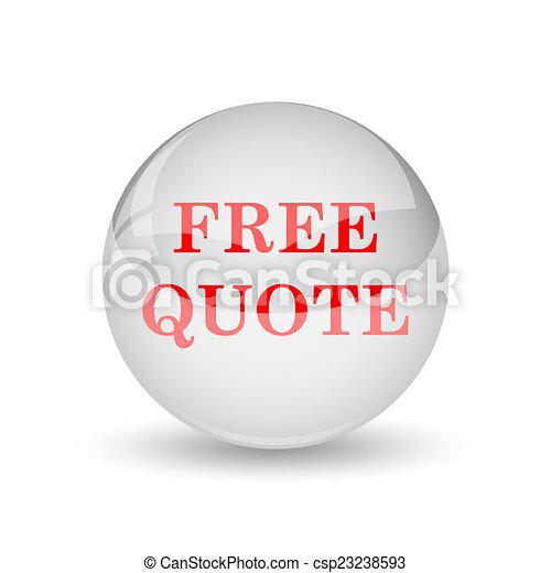 Free quote icon - csp23238593