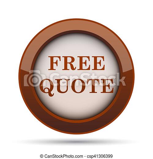 Free quote icon - csp41306399