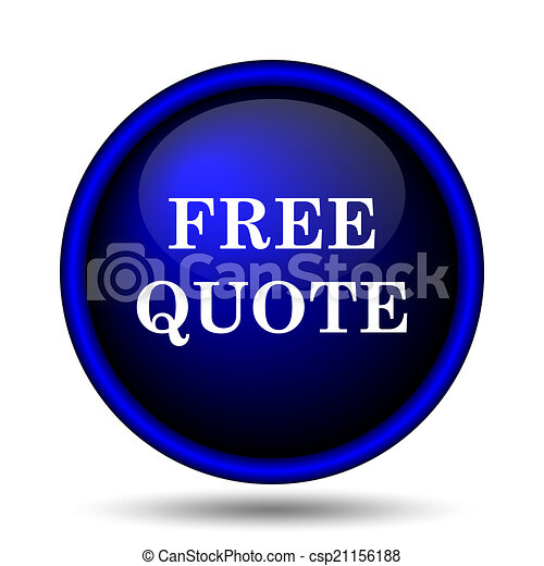 Free quote icon - csp21156188