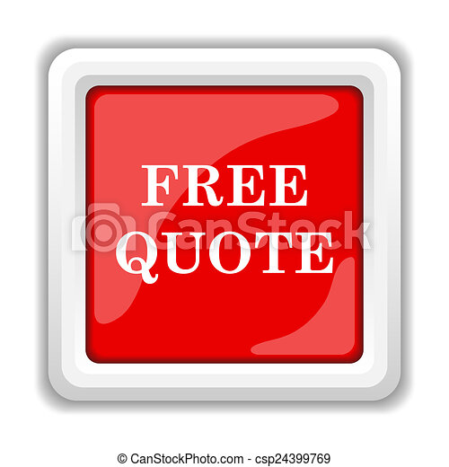 Free quote icon - csp24399769