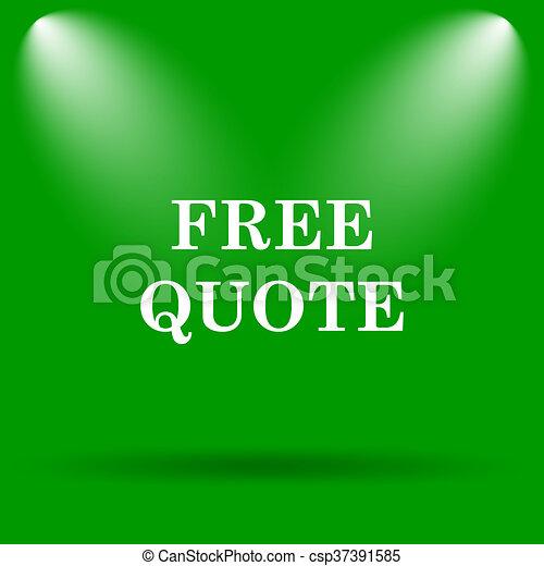 Free quote icon - csp37391585