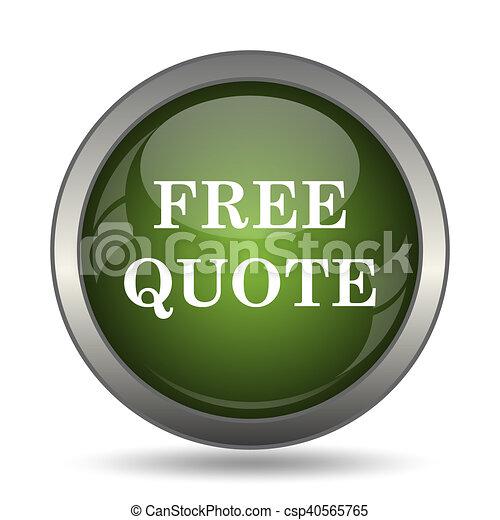 Free quote icon - csp40565765
