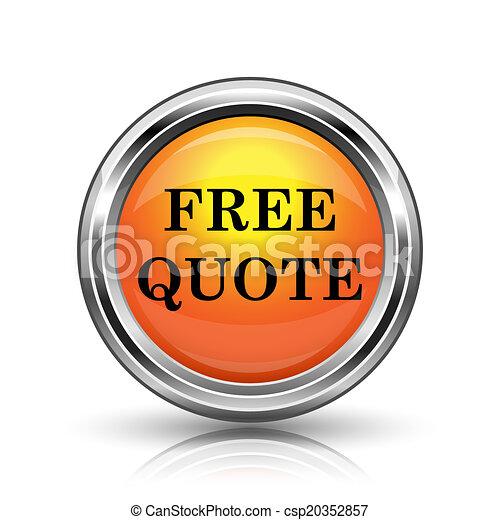 Free quote icon - csp20352857