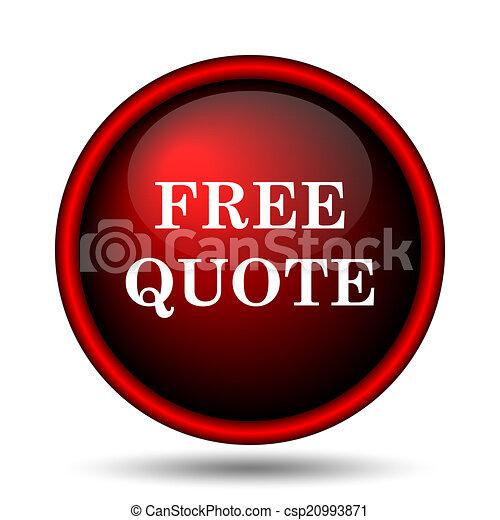 Free quote icon - csp20993871
