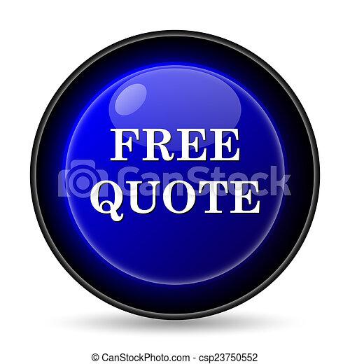 Free quote icon - csp23750552