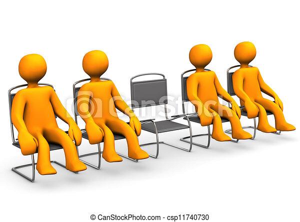 Free Seat - csp11740730