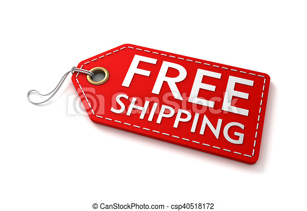 free shipping shopping tag 3d illustration free shipping shopping rh canstockphoto com Shipping Cartoon Clip Art Free Shipping Graphic