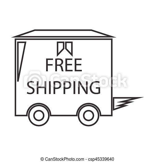 free shipping truck box - csp45339640