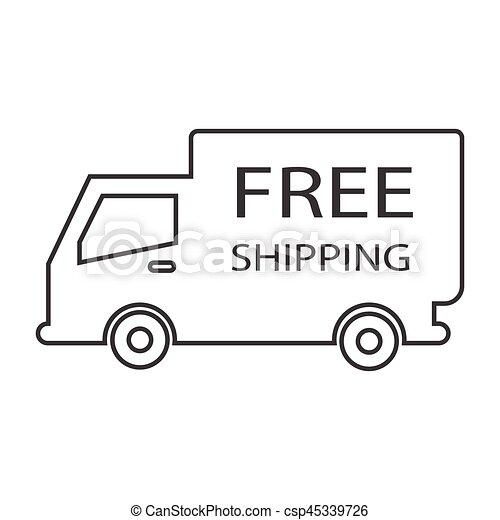 free shipping truck box - csp45339726