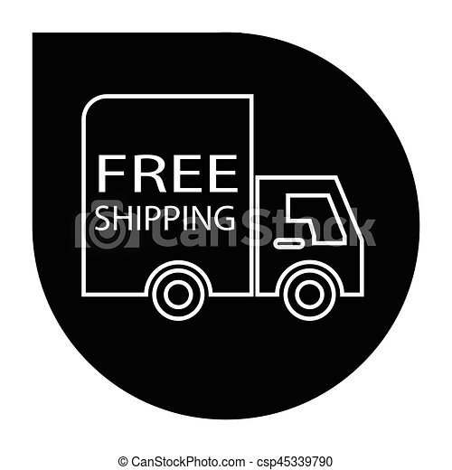 free shipping truck round - csp45339790