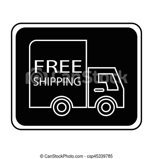 free shipping truck square - csp45339785