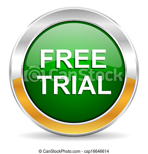 free trial icon - csp16646614