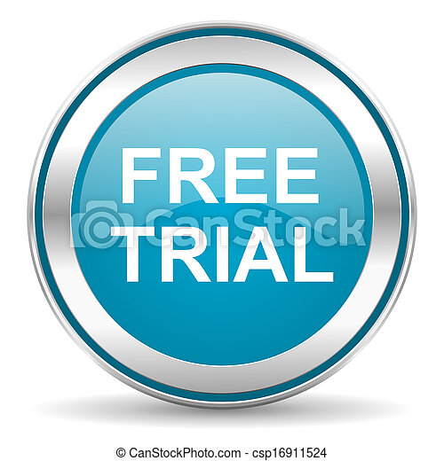 free trial icon - csp16911524
