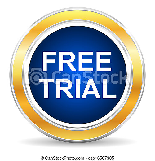 free trial icon - csp16507305