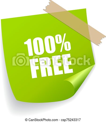 Free vector note paper - csp75243317