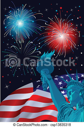 Freedom Celebration - csp13835318