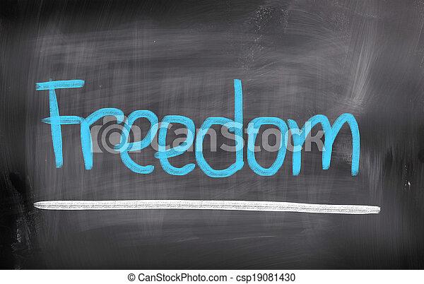 Freedom Concept - csp19081430