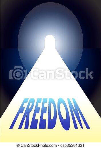 freedom - csp35361331