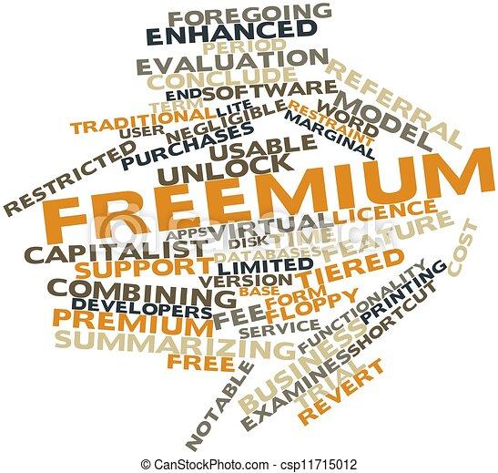 Freemium - csp11715012