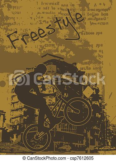 freestyle biker - csp7612605