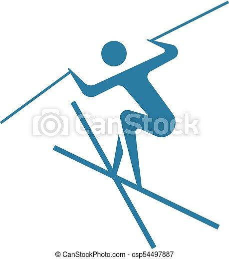 Freestyle icon - csp54497887