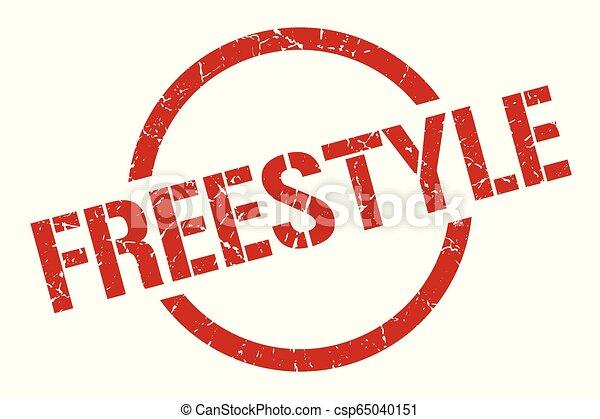 freestyle stamp - csp65040151