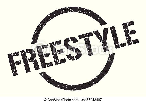 freestyle stamp - csp65043487