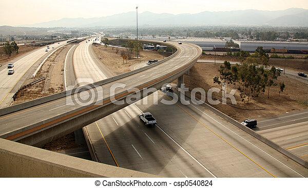Freeway Interchange - csp0540824