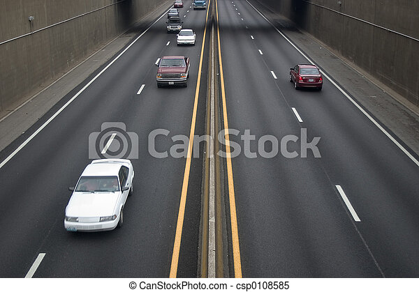 Freeway Traffic - csp0108585