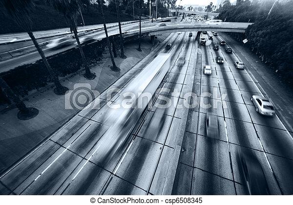 Freeway traffic - csp6508345